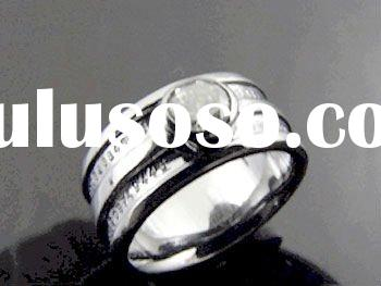 Fashion Stainless Steel Dimond Rings