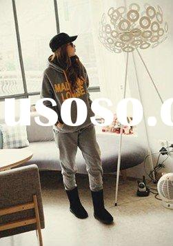 High Quality Fashion Hooded Letter Printing Cotton Tracksuit zzwpp