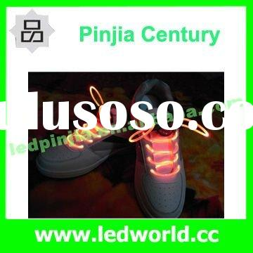 Hot Selling!!!OEM Light Up Flashing LED Shoelace For Party Decoration