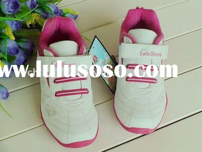 Hot sale pink girls sports shoes D61406
