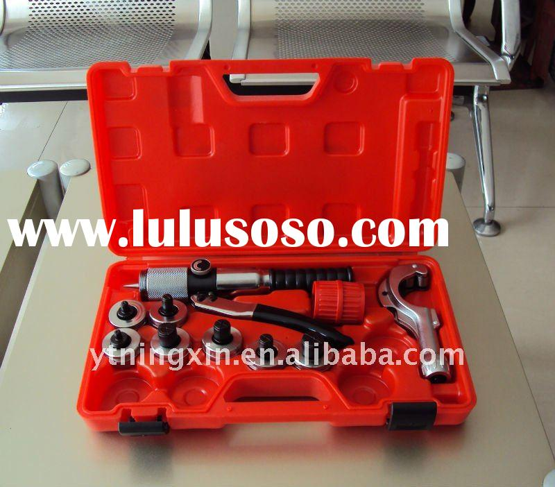 Hydraulic tube expander tool set for refrigeration