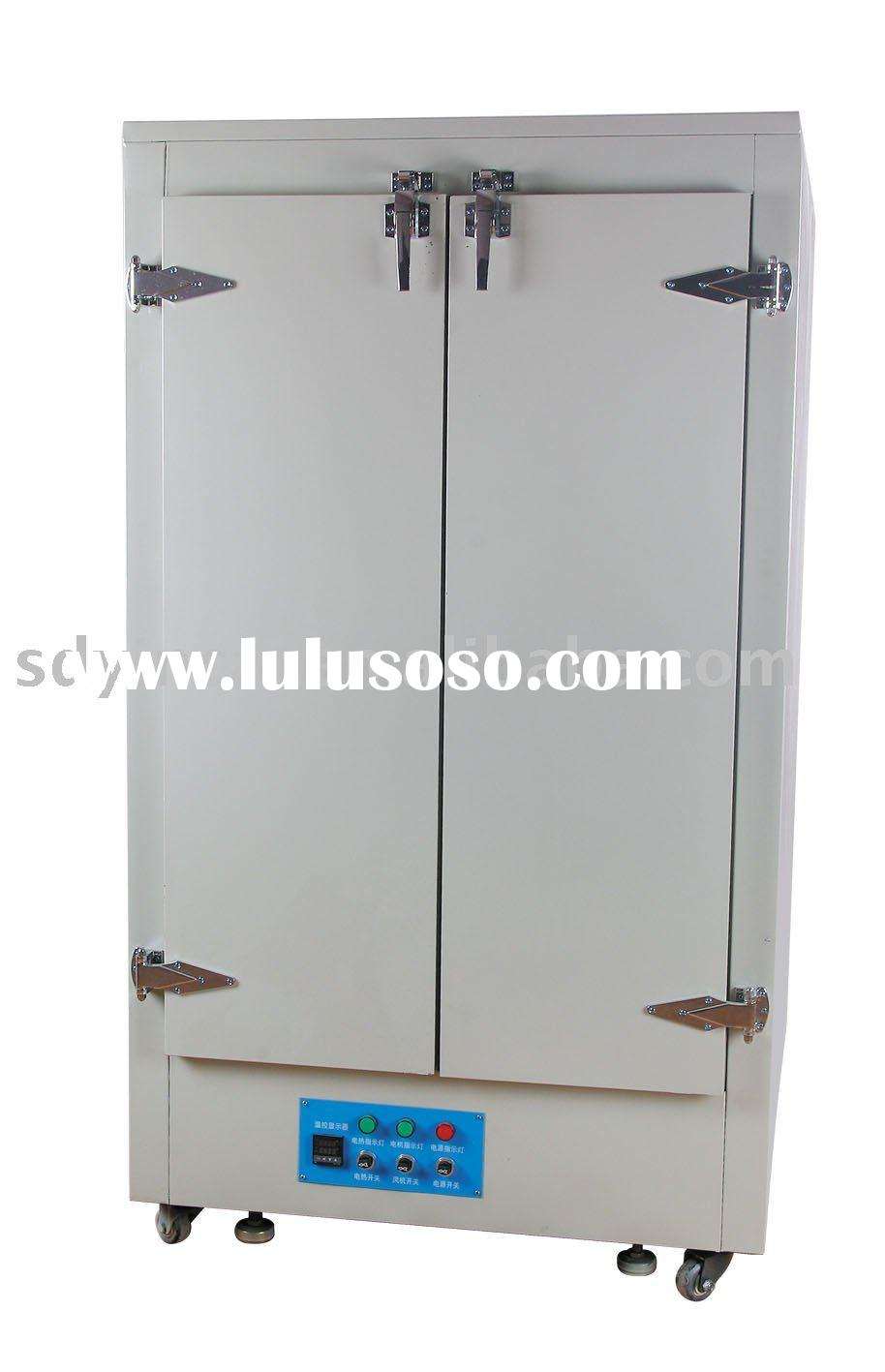 Large size screen printing stencil drying cabinet