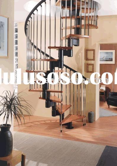 Metal spiral stairs for sale price china manufacturer for Aluminum spiral staircase prices