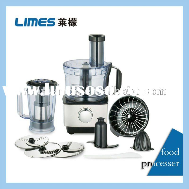 Multi-food processor with blender machine and citrus press