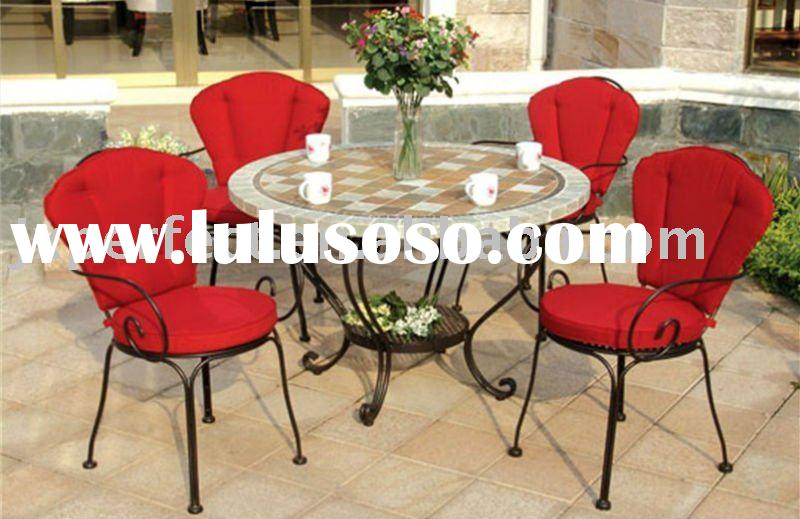 Nice and Modern Casting marble top outdoor furniture PQ-016