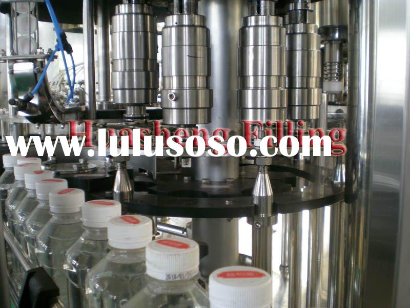 PET/glass bottle filling machine
