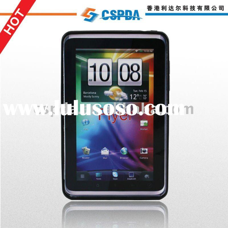 The most favoured TPU Skin Case Soft Gel Cover 4 HTC Flyer Tablet