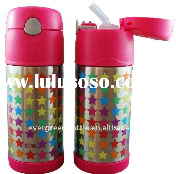 Thermos Funtainer 355ml Vacuum Insulated children sport Bottle - Double Wall Stainless Steel, BPA Fr