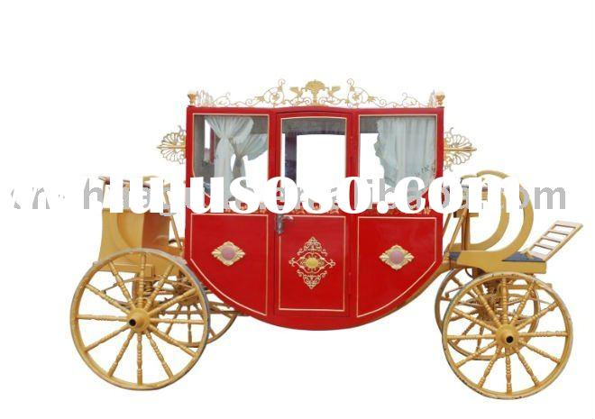 Top grade sightseeing royal antique horse carriage