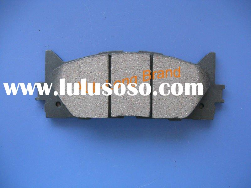 Toyota car brake parts/ semi-metallic brake pads for Toyota Camry