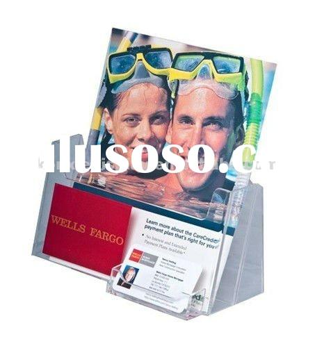 acrylic Brochure Holders and name card display
