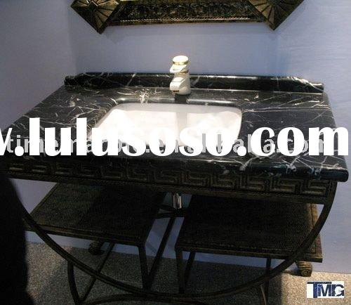 black and white bathroom vanity top