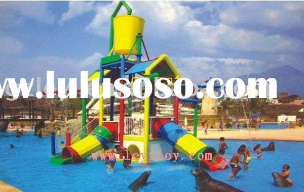 commercial water slidewater park LY-052A