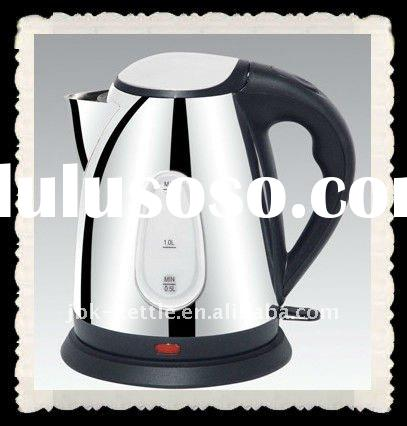 eco sus304 stainless steel electric cordless kettle with water window