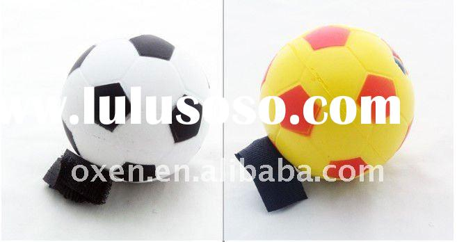 foam rubber soccer ball with string