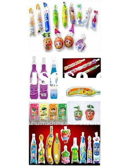ice lolly tube filling sealing packing machine