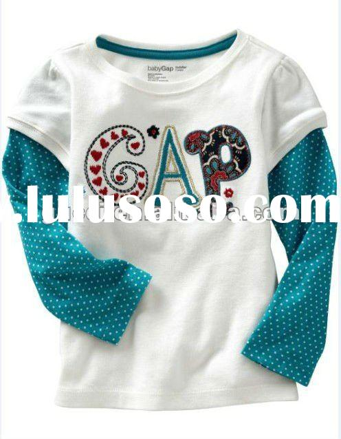 kids&children's cloth baby long-sleeve T-shirt