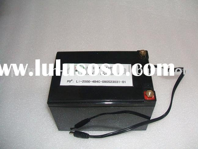 lifepo 12V 10AH battery pack for E-bike,solar products