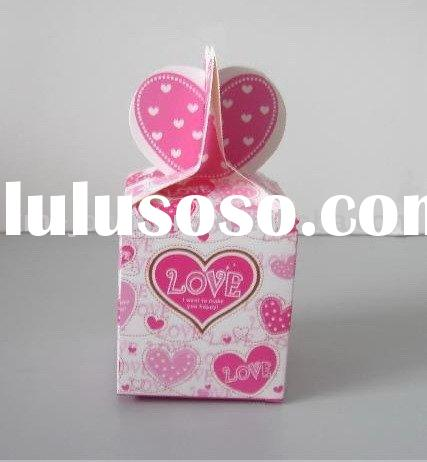 lovely birthday gift box,candy paper bax,wedding gift box,Chocolate gift box.