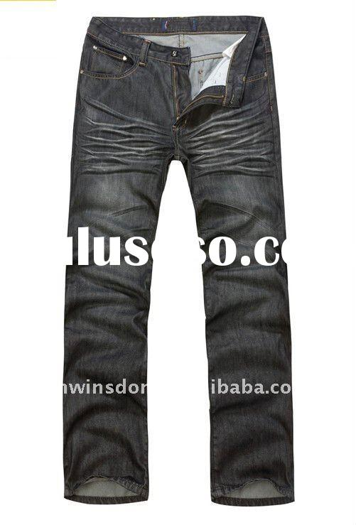 men's fashion denim pants