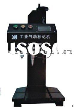 one body pneumatic marking machine for gear, mechanical parts