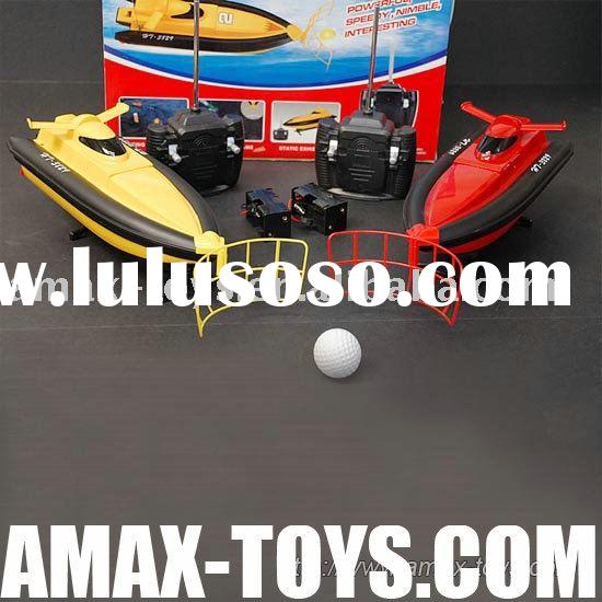 rs-30829 2 Electric Pushball Racing RC Boat RTR