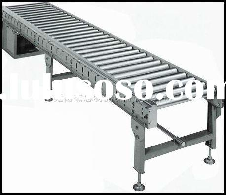 single chain driving roller conveyor system
