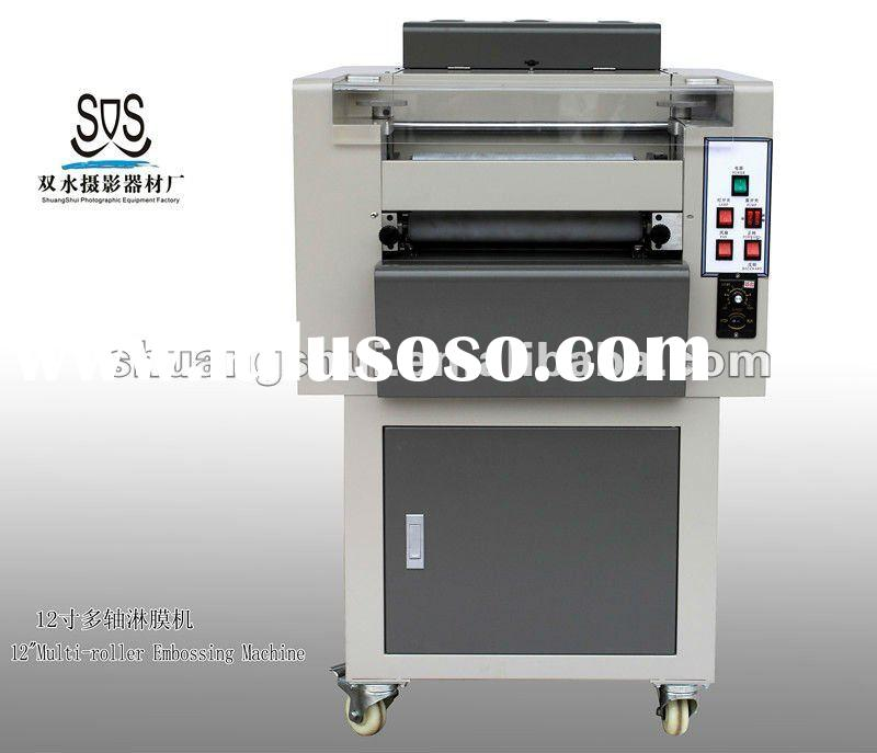 small size Multi-roller Embossing Machine
