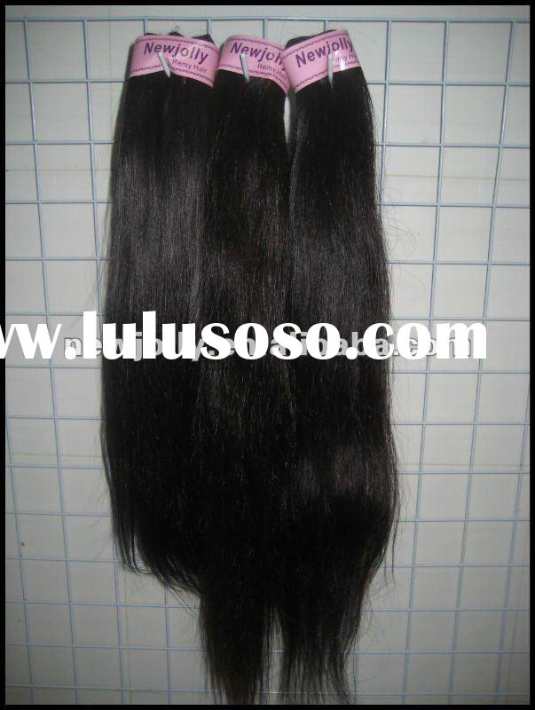 top quality Brazilian straight weft sewing machine hair