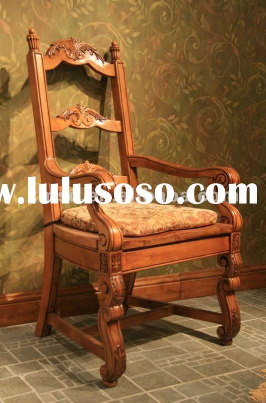 vintage home furniture solid wood chair
