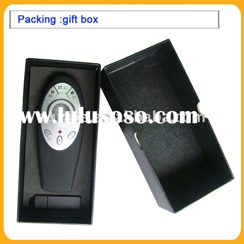 wireless presenter with mouse , wireless remote powerpoint presenter with green laser pointer