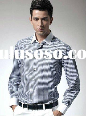 100% Cotton Men Polo Shirts Long Sleeve Polo Shirt Men 2012 Men Fancy Shirt