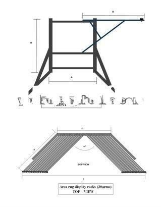 Swing Arm Display Racks For Area Rug 1 6m 2 3m Wire Cd Rack Find Image About Wiring Diagram