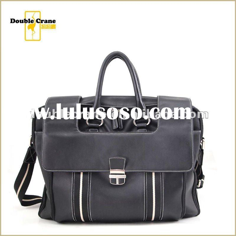 2012 Latest Men's Trendy Genuine Leather office bags for men