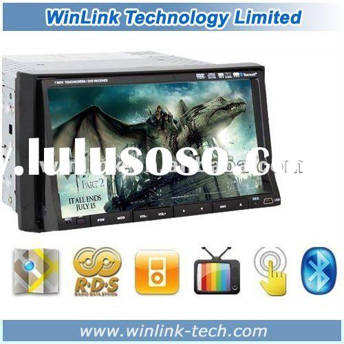 7 inch 2 din Touch Screen Universal Car Radio Player With DVB-T MPEG2/4 Optional