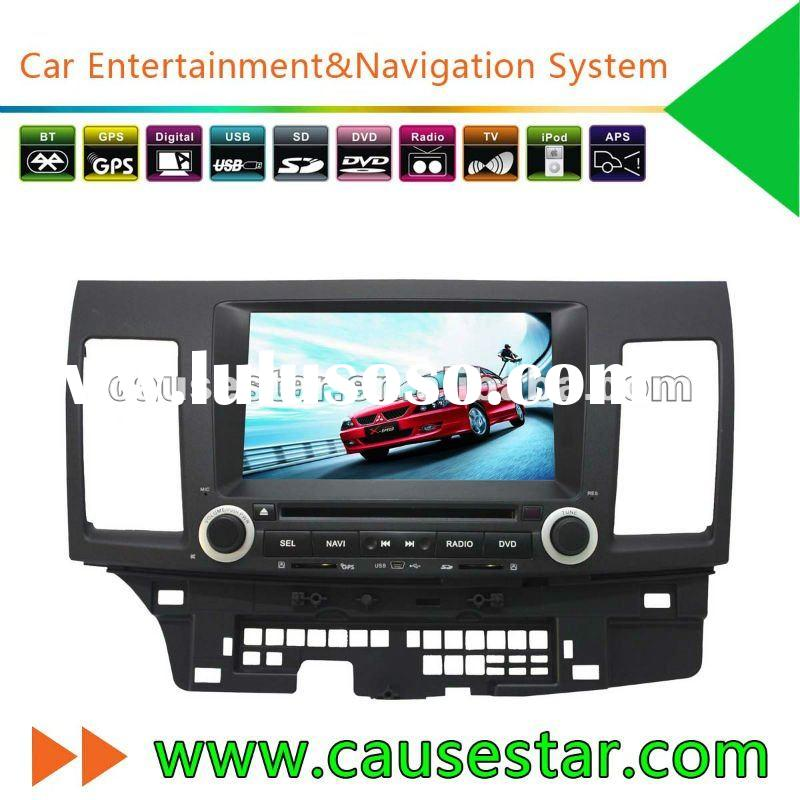 "8"" Special Car DVD Player for Mitsubishi Lancer,HD TFT Touch screen,Double din Dashboard, bluet"
