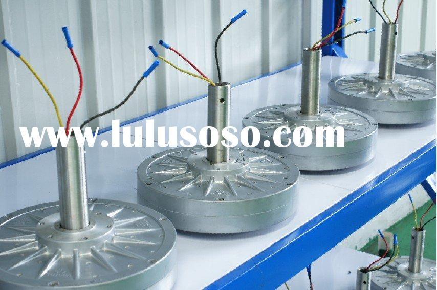 Axial type wind turbine generator(300w)