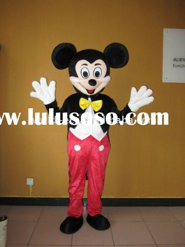 Carton head Adult Mickey Mouse Mascot Costumes
