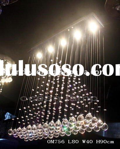 Contemporary chandelier OM756 for dining room