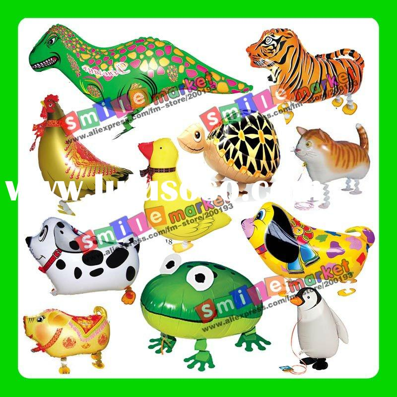 Factory outlets MIX STYLE wholesale CHEAP 2012 hot selling YOUR OWNS helium walking pet balloons