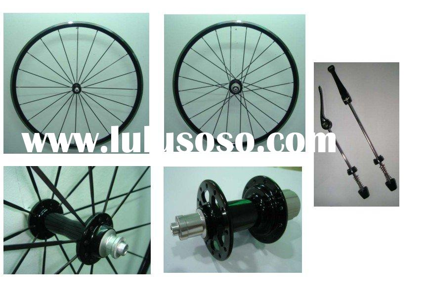Hand built 27mm clincher alloy racing bike wheels(paypal)