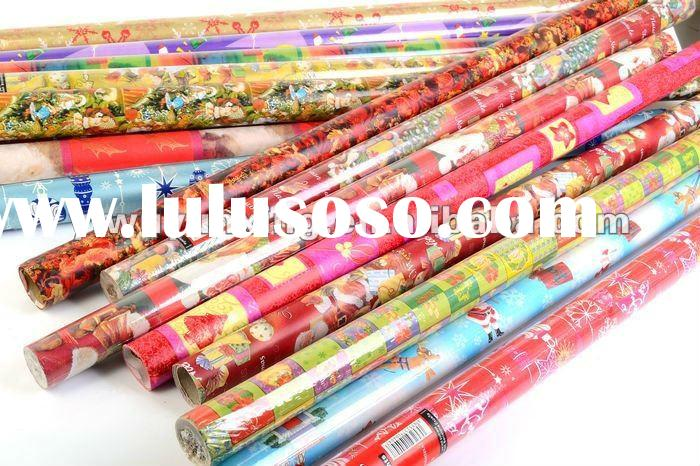 Hot sale new design printable glossy art paper for gift wrapping