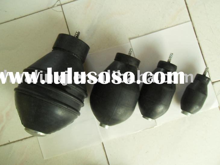 Inflatable test plug for pipeline detection ,leak test