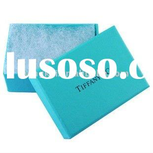 Innovative folding paper gift box with silk cotton inside