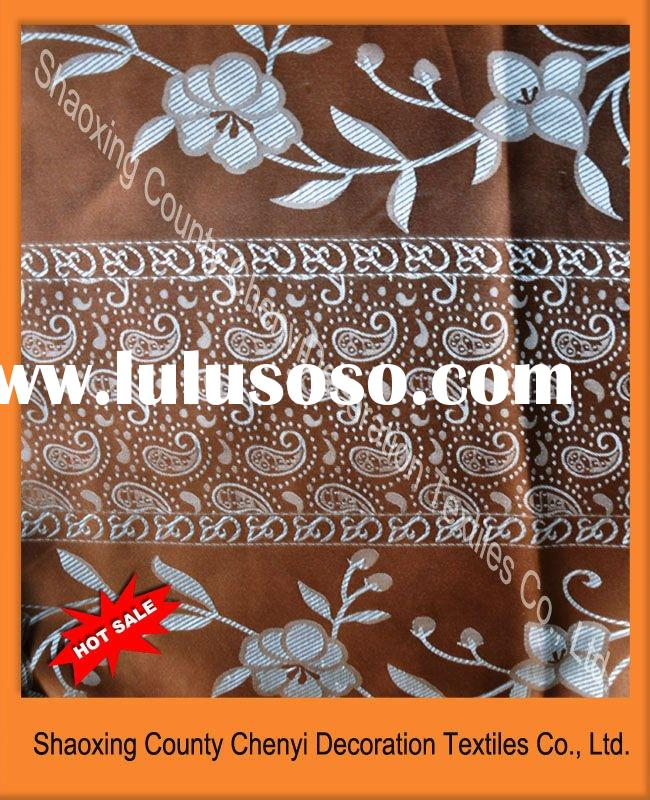 New 100%polyester jacquard curtain fabric india