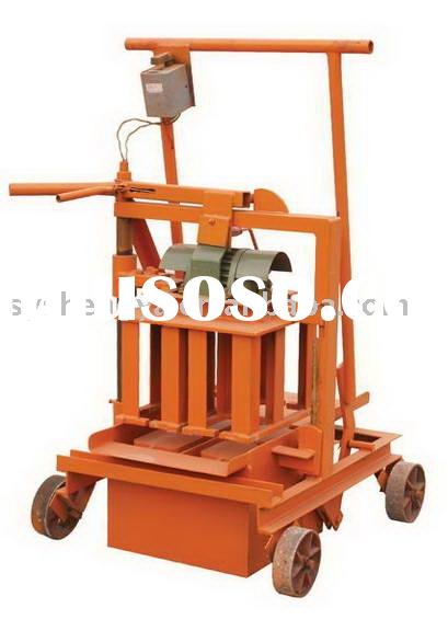QMR2-45 small manual block machine