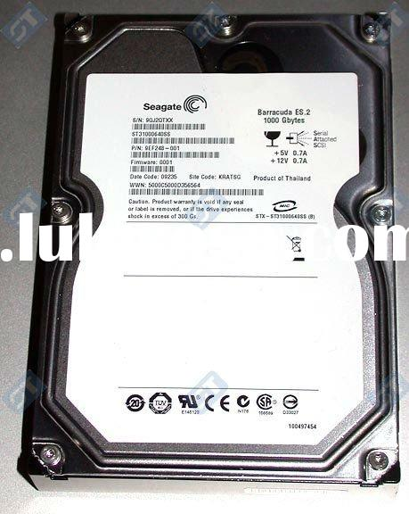 "ST31000640SS - 1TB 7200 RPM 16MB Cache SAS 3Gb/s 3.5"" Internal Hard Drive"
