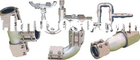 Stainless Steel Pipe clamps,pipe connections