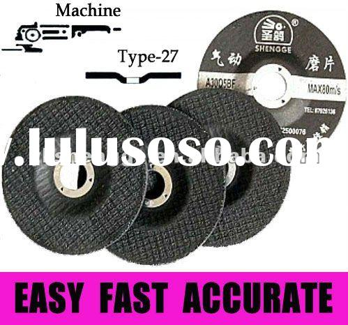 T27 Sharpening Cup Abrasive Wheel For Stainless Steel Inox