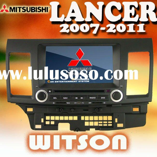 WITSON DOUBLE DIN car dvd for mitsubishi lancer